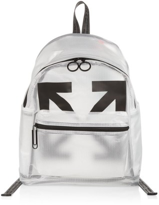 Off-White Arrow Logo PVC Backpack