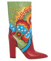 Valentino Enchanted Wonderland leather boots