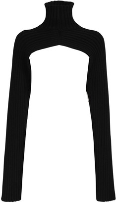 Peter Do Ribbed Turtle Neck W/Long Sleeves