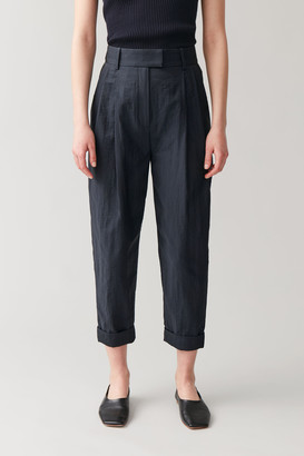 Cos Pleated Dropped Crotch Pants