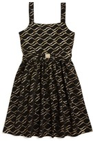 Us Angels Girls' Knit Print Dress - Sizes 7-16