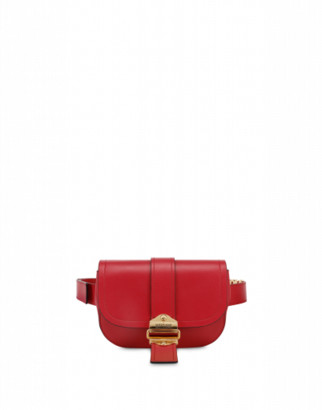 Moschino Belt Waist Bag Woman Red Size U It - (one Size Us)