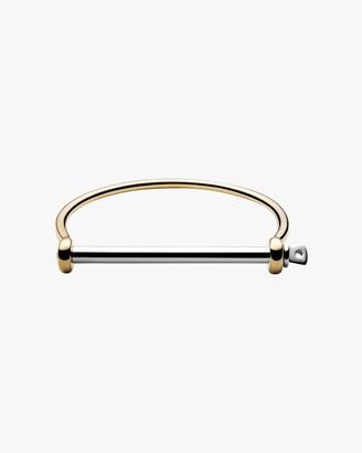 Miansai Thin Screw Cuff Bracelet