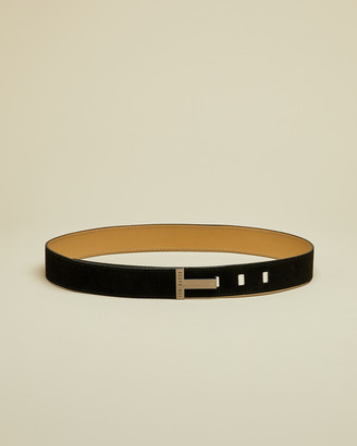 Ted Baker PPIPPIE T branded suede belt