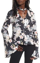 Somedays Lovin Women's Mystic Nights Floral Blouse
