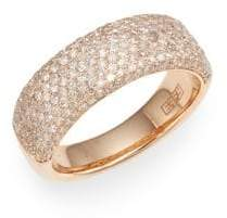 Effy Diamond & 14K Rose Gold Ring