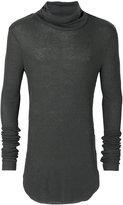 Lost & Found Ria Dunn - turtleneck slim-fit jumper - men - Polyamide/Viscose/Angora/Wool - S