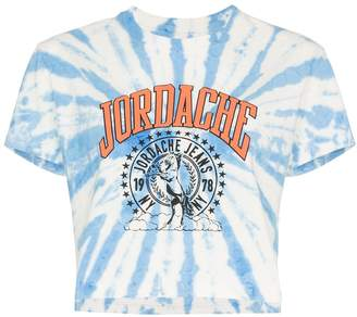 Jordache cropped tie-dye T-shirt