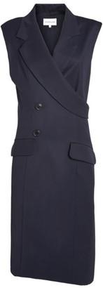 Natasha Zinko Asymmetric Wool Wrap-Around Sleeveless Jacket