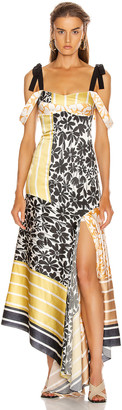 Silvia Tcherassi Fabia Dress in Desert Down Multi | FWRD