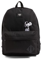 Vans Boy's X Peanuts Joe Cool Old Skool Ii Backpack - Black