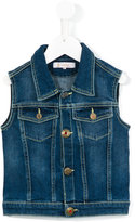 Dondup Kids - denim waistcoat - kids - Cotton/Spandex/Elastane - 4 yrs