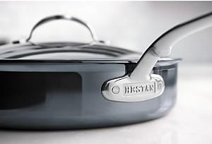 Hestan NanoBond 5-Qt Saute Pan & Lid