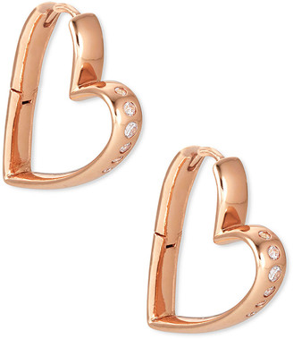 Kendra Scott Ansley Small Heart Hoop Earrings