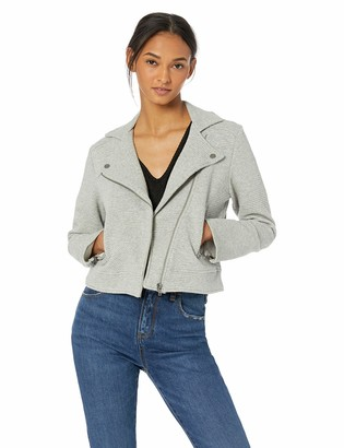 Cupcakes And Cashmere Women's Wesley Jacquard Knit Moto Jacket