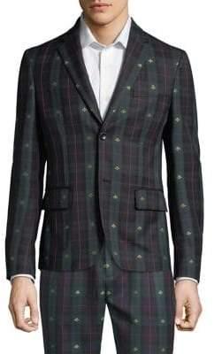 Gucci Bee Check Jacket