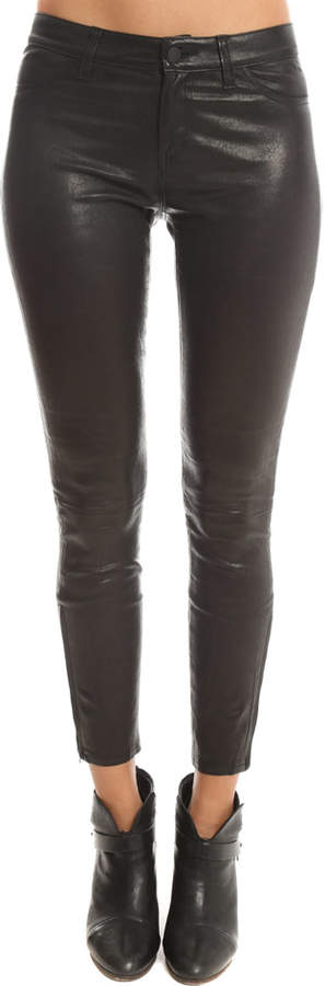 L'Agence Aurelie Leather Legging