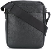 Emporio Armani messenger bag - men - Calf Leather/Polyester - One Size