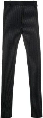 Alexander McQueen Pinstriped Tailored Trousers