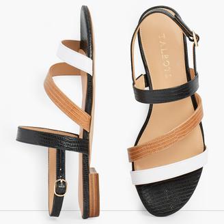 Talbots Keri Multi Strap Sandals