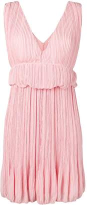 Chloé waist ruffles pleated dress