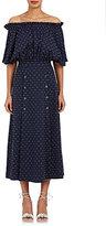 Saloni Women's Dakota Cotton-Blend Midi-Dress