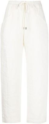 Gentry Portofino Cropped Drawstring Trousers