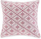 Natori N Cherry Blossom Square Throw Pillow