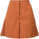 Grey Jason Wu - high-waisted shorts - women - Polyester - 2