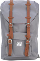 Herschel leather-trimmed canvas backpack - women - Polyester/Polyurethane - One Size