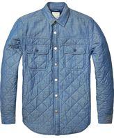 Scotch & Soda Washed Indigo Shirt Jacket | Home Alone