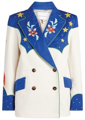 Mira Mikati Embellished Double-Breasted Jacket