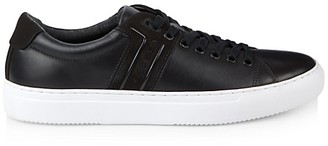 HUGO BOSS Enlight Leather Tennis Runners