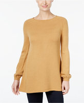 Style&Co. Style & Co. Bishop-Sleeve Tunic Sweater, Only at Macy's