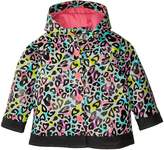 Western Chief Groovy Leopard Rain Coat Girl's Coat