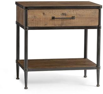 "Pottery Barn Juno 27"" Reclaimed Wood Nightstand"