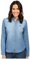 U.S. Polo Assn. Long Sleeve Denim Shirt
