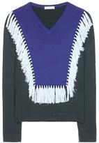 Altuzarra Ming Tasseled Merino Wool Sweater