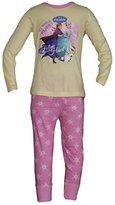Disney Girls Frozen Elsa Anna Sisters Forever Pyjama Set / Pjs / Pajamas