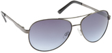 UNIONBAY Men's U937 Mirrored Aviator Sunglasses