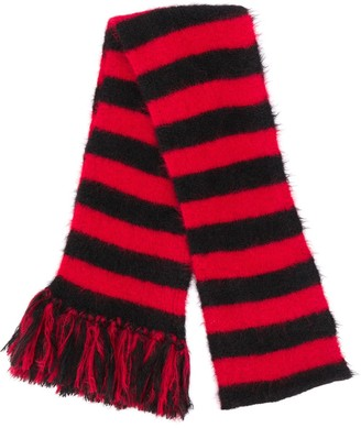 Alanui Striped Knit Scarf