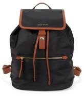 Cole Haan Snap-Flap Draw-String Backpack