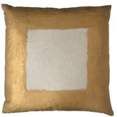 The Well Appointed House Dransfield & Ross Gold Painted Border Pillow-Available in Two Different Sizes