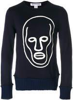 Comme des Garcons face print sweatshirt