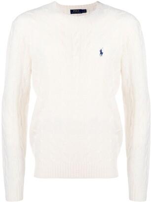 Polo Ralph Lauren cable-knit jumper