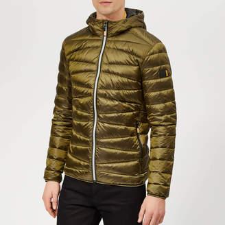 Superdry Men's Clarendon Down Hooded Jacket