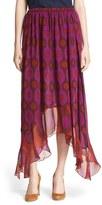 Diane von Furstenberg Women's 'Louella' Silk Maxi Skirt