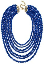 BaubleBar Women's 'Bold' Multistrand Beaded Statement Necklace