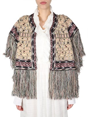 Etro Hood With Fringes