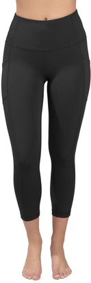 90 Degree By Reflex Interlink High Waist Pocket Capri Leggings